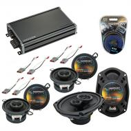 Compatible with Ford Aerostar 1986-1997 OEM Speaker Replacement Harmony (2)R35 R69 & CXA360.4...