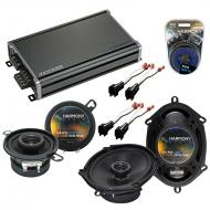 Compatible with Ford Thunderbird 2002-2005 OEM Speaker Replacement Harmony R68 R35 & CXA360.4...