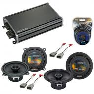 Compatible with Honda Prelude 1988-1991 OEM Speaker Replacement Harmony R65 R5 & CXA360.4 Amp