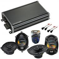 Compatible with Lincoln Town Car 03-11 OEM Speaker Replacement Harmony R68 R69 & CXA360.4 Amp