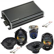Compatible with Lincoln Town Car 90-02 OEM Speaker Replacement Harmony R68 R69 & CXA360.4 Amp