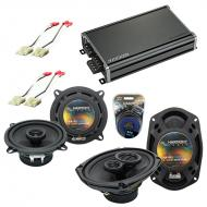 Compatible with Cadillac Brougham 1987-1992 OEM Speaker Replacement Harmony R5 R69 & CXA360.4...