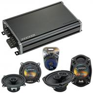 Compatible with Mini Cooper Coupe 07-14 OEM Speaker Replacement Harmony R5 R69 & CXA360.4 Amp