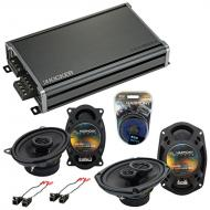 Compatible with Pontiac Grand AM 1992-1995 OEM Speaker Replacement Harmony R46 R69 & CXA360.4...