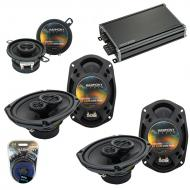 Compatible with Toyota Camry 2007-2011 OEM Speaker Replacement Harmony (2) R69 R35 & CXA360.4...