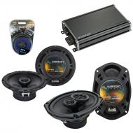 Compatible with Infiniti G20 1991-1996 Speaker Replacement Harmony R65 R69 & CXA360.4 Amp