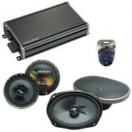 Compatible with Jeep Grand Cherokee 05-13 Speakers Replacement Harmony C69 C65 & CXA360.4 Amp