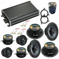 Compatible with Jeep Grand Cherokee 96-98 Speakers Replacement Harmony Replacement & CXA360.4