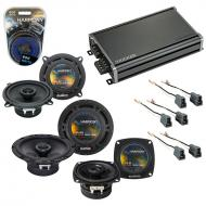 Compatible with Dodge Colt 1987-1992 OEM Speaker Replacement Harmony R5 R4 R65 & CXA360.4 Amp