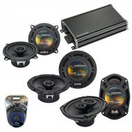 Compatible with Volvo C70 98-02 OEM Speaker Replacement Harmony R65 R5 R69 & CXA360.4 Amp
