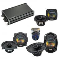 Compatible with Cadillac Coupe DeVille 85-87 OEM Speaker Replacement Harmony Speakers & CXA36...
