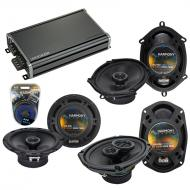 Compatible with Lincoln Continental 95-97 OEM Speaker Replacement Harmony Replacement & CXA36...