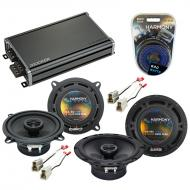 Compatible with Nissan Pulsar 1987-1990 Factory Speaker Replacement Harmony R65 R5 & CXA360.4