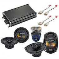 Compatible with Toyota Camry Sedan 1997-2001 OEM Speaker Replacement Harmony Speakers & CXA36...
