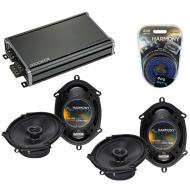 Compatible with Nissan Quest 1993-2006 Factory Speaker Replacement Harmony (2) R68 & CXA360.4