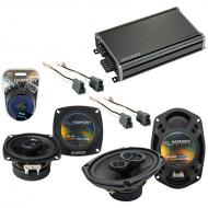 Compatible with Eagle Summit 1988-1992 Factory Speaker Replacement Harmony R4 R69 & CXA360.4 Amp