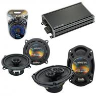 Compatible with Fiat 131 1990-1983 Factory Speaker Replacement Harmony R5 R69 & CXA360.4 Amp