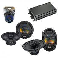 Compatible with Nissan Titan 2008-2012 OEM Speaker Replacement Harmony R65 R69 & CXA360.4 Amp