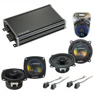 Compatible with Geo Storm 1990-1993 Factory Speaker Replacement Harmony R5 R4 & CXA360.4 Amp