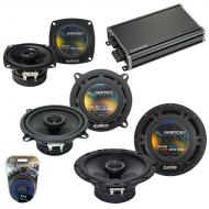 Compatible with Toyota Tercel 87-90 Factory Speaker Replacement Harmony R65 R4 R5 & CXA360.4 Amp