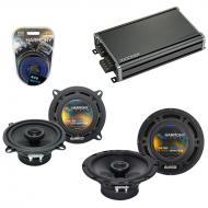 Compatible with Infiniti Q45 1997-2001 OEM Speaker Replacement Harmony R65 R5 & CXA360.4 Amp