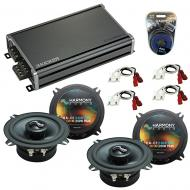 Compatible with Jeep Grand Wagoneer 86-92 OEM Speakers Replacement Harmony (2) C5 & CXA360.4