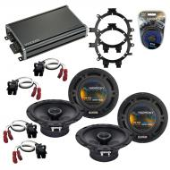 Compatible with GMC Suburban 1995-1999 OEM Speaker Replacement Harmony R5 R65 & CXA360.4 Amp