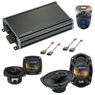 Compatible with Honda Accord 1982-1985 OEM Speaker Replacement Harmony R4 R69 & CXA360.4 Amp
