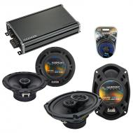 Compatible with Cadillac Catera 1997-2001 OEM Speaker Replacement Harmony R65 R69 & CXA360.4 Amp