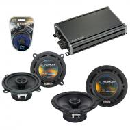 Compatible with Mercedes S-Class 98-07 OEM Speaker Replacement Harmony R5 R65 & CXA360.4 Amp