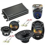 Compatible with Oldsmobile Eighty-Eight 1986-1991 OEM Speaker Replacement Harmony & CXA360.4 Amp