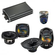 Compatible with Cadillac Seville 1996-1996 OEM Speaker Replacement Harmony R4 R69 & CXA360.4 Amp