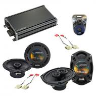 Compatible with Chevy Astro Van 1985-1990 OEM Speaker Replacement Harmony R69 R65 & CXA360.4 Amp