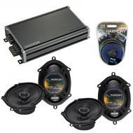 Compatible with Ford Taurus / Taurus X 2008-2009 Factory Replacement Harmony (2) R68 & CXA360...