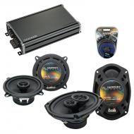 Compatible with Chrysler Horizon 1978-1983 OEM Speaker Replacement Harmony R5 R69 & CXA360.4 Amp