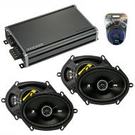 Compatible with Ford Focus 2008-2011 Factory Speaker Replacement Kicker (2) DSC68 & CXA360.4