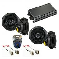 Compatible with Ford Aspire 1995-1997 Factory Speaker Replacement Kicker (2) DSC5 & CXA360.4