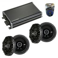 Compatible with Subaru Outback 2000-2009 Factory Speaker Replacement Kicker (2) DSC65 & CXA360.4