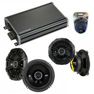 Compatible with Volvo V70/Cross Country/XC70 01-04 Speaker Replacement Kicker DS Coax & CXA360.4