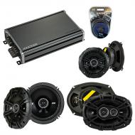 Compatible with Volvo V70/Cross Country/XC70 05-07 Speaker Replacement Kicker DS Coax & CXA360.4