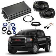 Compatible with GMC Canyon Crew Cab 2015-2018 Factory Speaker Replacement Package R69 & CXA360.4