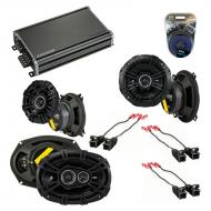 Compatible with Buick Regal 1995-2004 Speaker Replacement Kicker DS Series & CXA360.4 Amplifier
