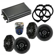 Compatible with Chevy Express 2008-2014 Speaker Replacement Kicker (2) DSC65 & CXA360.4 Amp