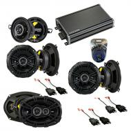 Compatible with Chrysler LeBaron 1984-1995 Speaker Replacement Kicker DS Package & CXA360.4 Amp