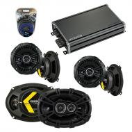 Compatible with Mercury Grand Marquis 79-81 Speaker Replacement Kicker DS Series & CXA360.4 Amp