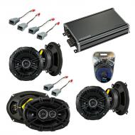 Compatible with Mercury Grand Marquis 82-88 EOM Speaker Replacement Kicker DS Series & CXA360.4