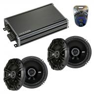 Compatible with Toyota Sienna 1996-2003 Factory Speaker Replacement Kicker (2) DSC65 & CXA360.4