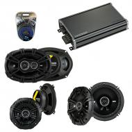 Compatible with Volvo S90/V90 97-99 Speaker Replacement Kicker DSC65 DSC5 DSC693 & CXA360.4 Amp