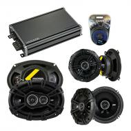 Compatible with Acura RL 1996-1998 Factory Speaker Replacement Kicker DS Series & CXA360.4