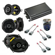 Compatible with Ford Mustang 1982-1985 Factory Speaker Replacement Kicker DS Series & CXA360.4